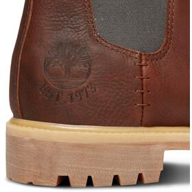 "Timberland Icon Collection Premium Chelsea Boots 6"" Herren medium brown full-grain"